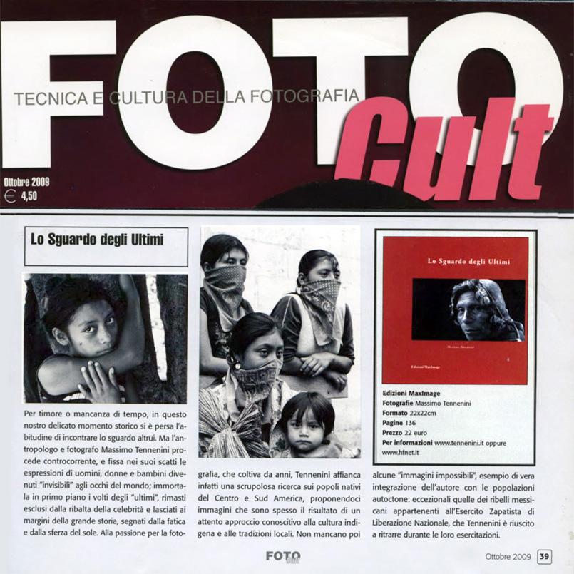 07 - Lo Sguardo degli ultimi - Foto Cult - ottobre 2009