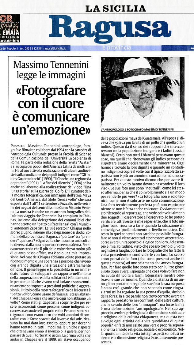La Sicilia - mostra di Ragusa 04