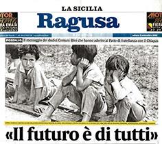 La Sicilia - mostra di Ragusa